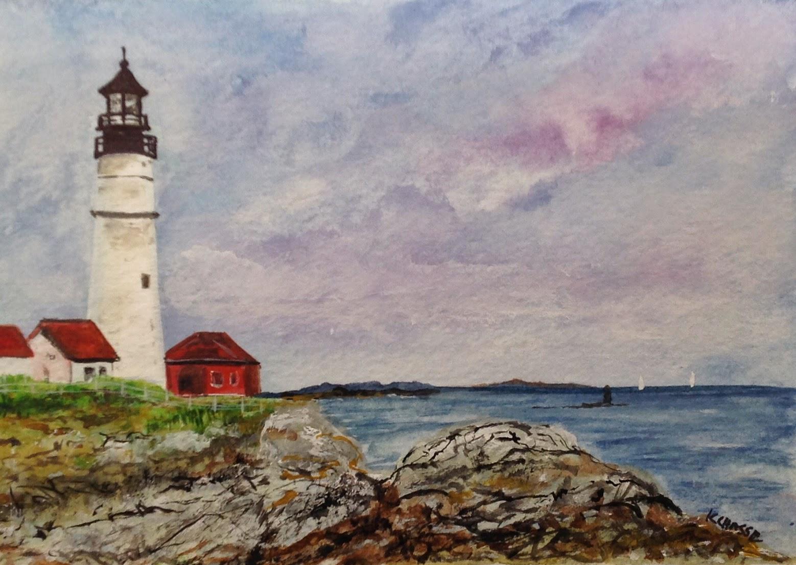 Portland Head Light - Lighthouse