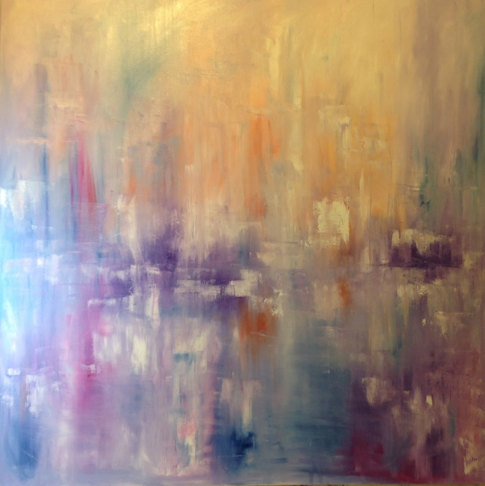 Vision Abstract Oil - Kellie Chasse