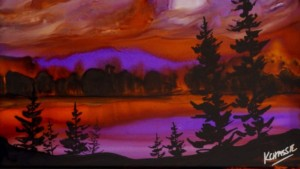 kellie-chasse-sunset-alcohol-ink-painting
