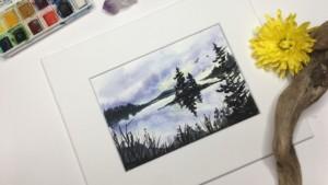 watercolor online class